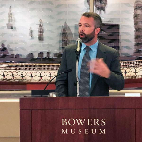 Brian Castner<br /> Night of High Adventure<br /> Bowers Museum, November 2, 2019