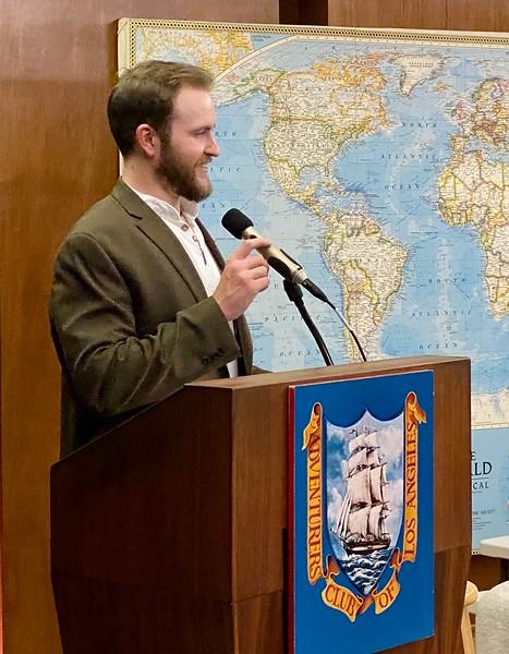 ACLA president, Alec Shumate<br /> February 13, 2020