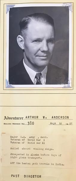 Anderson, Arthur