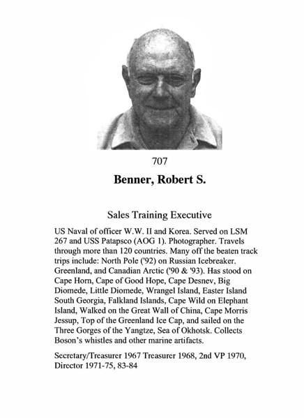 Benner, Robert S.