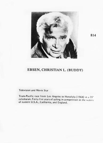 Ebsen, Christian (Buddy)