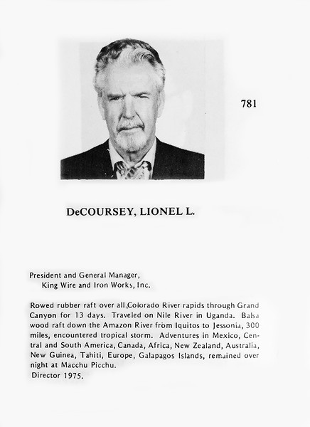 DeCoursey, Lionel