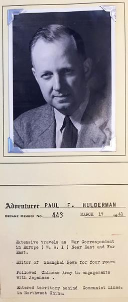 Hulderman, Paul
