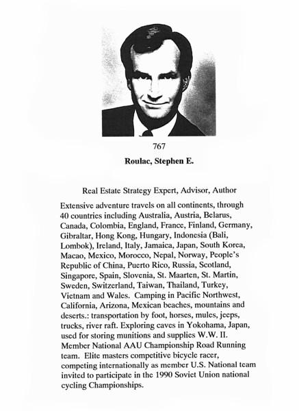 Roulac, Stephen E.