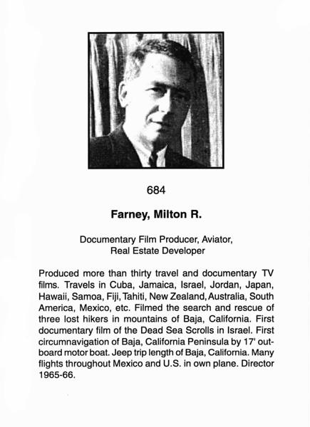 Farney, Milton R.