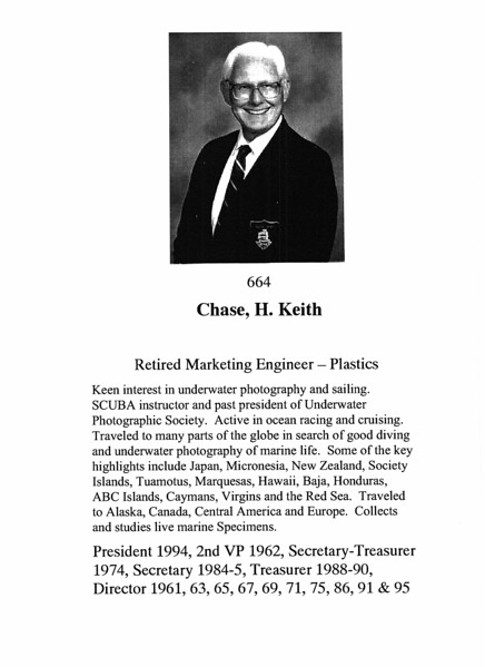 Chase, H. Keith