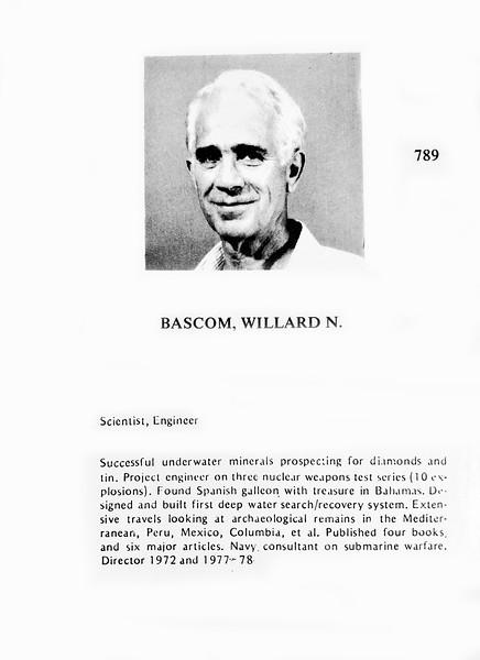 Bascom, Willard