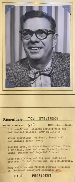 Stevenson, Tom