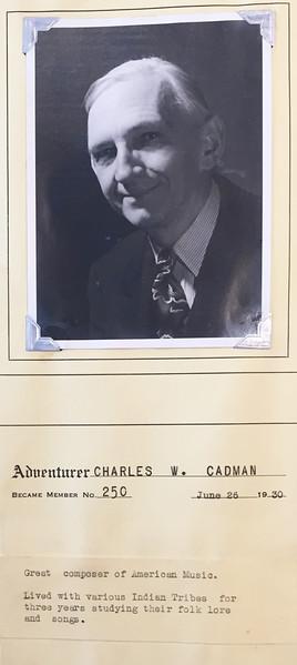 Cadman, Charles W.