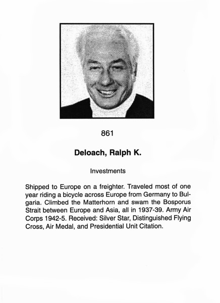 Deloach, Ralph K.