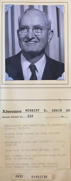 Adair, Herbert, Sr.