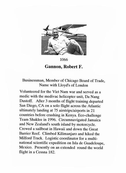 Gannon, Robert