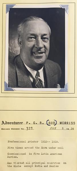 Morriss, P. G. B. (Bud)