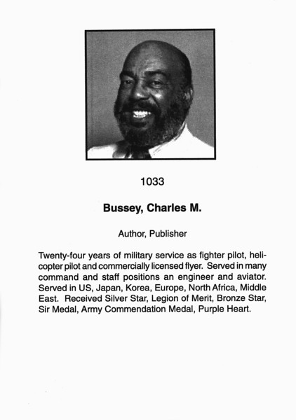 Bussey, Charles M.