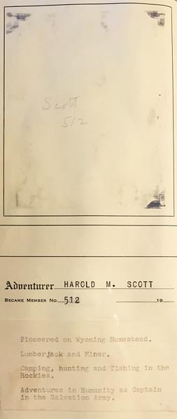 Scott, Harold
