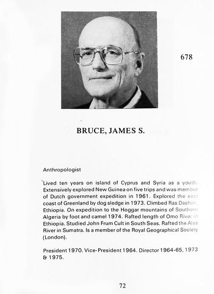 Bruce, James