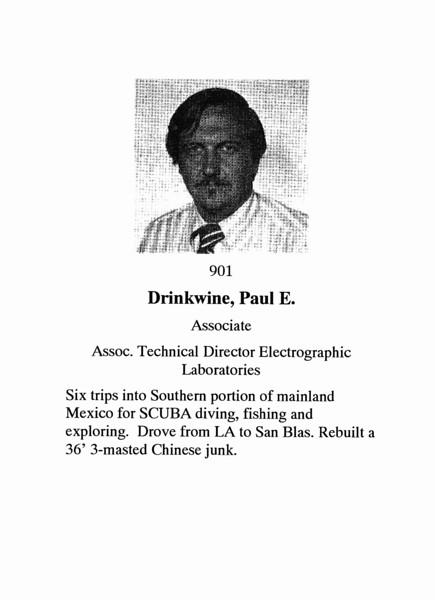 Drinkwine, Paul E.