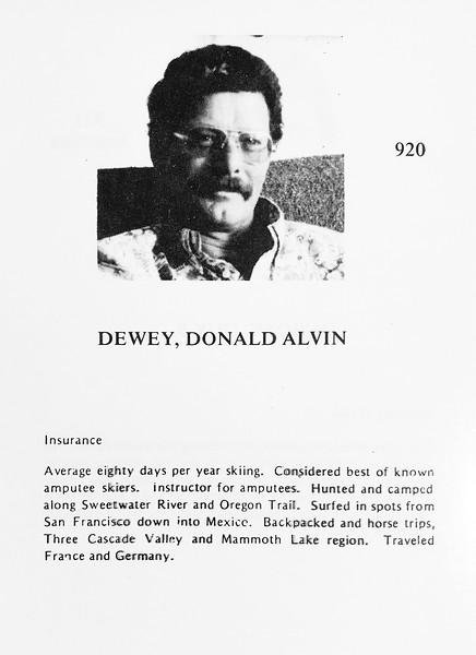 Dewey, Donald