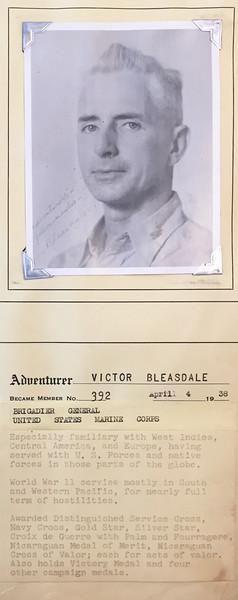Bleasdale, Victor