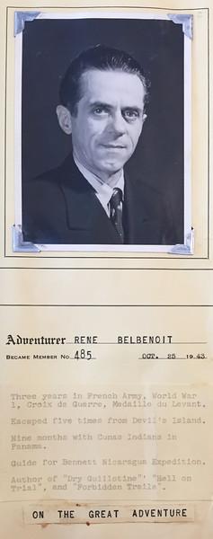Belbenoit, Rene