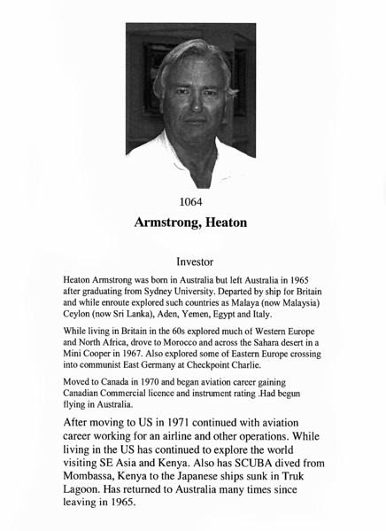 Armstrong, Heaton