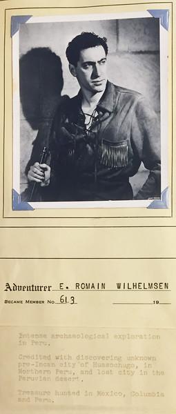 Wilhelmsen, Romain