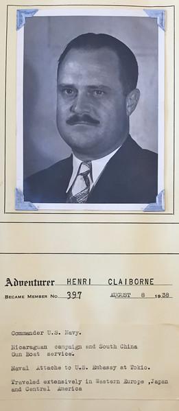 Claiborne, Henri