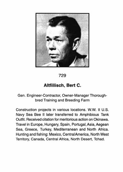 Altfillish, Bert C.