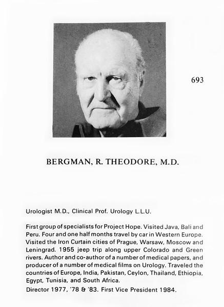 Bergman, R. Theodore
