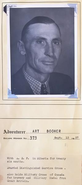 Booher, Art