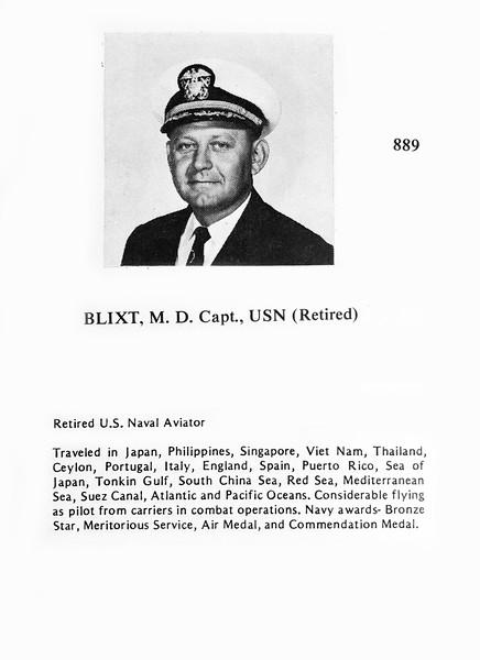 Blixt, M.D.
