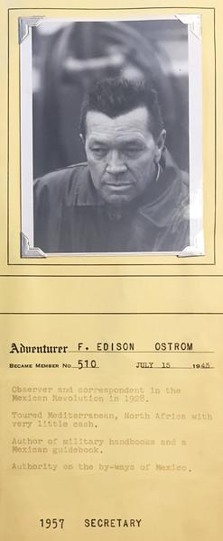 Ostron, Edison