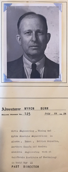 Burr, Myron