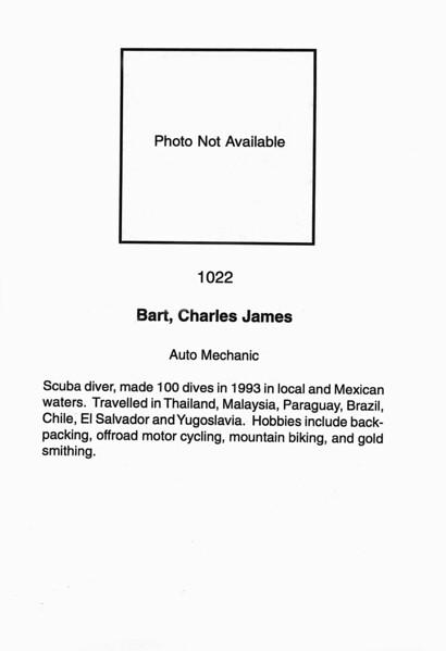 Bart, Charles James