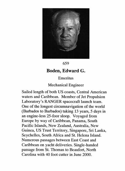 Boden, Edward G.