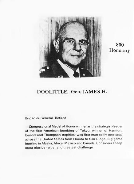 Doolittle, James