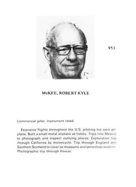 McKee, Robert