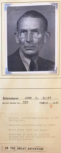 Cliff, John