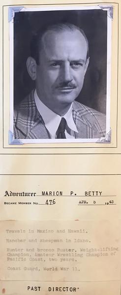 Betty, Marion