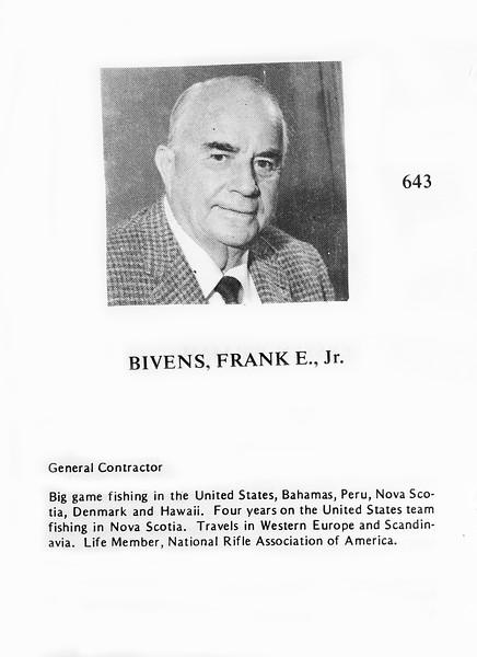 Bivens, Frank