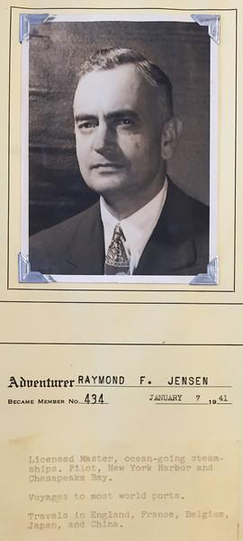Jensen, Raymond