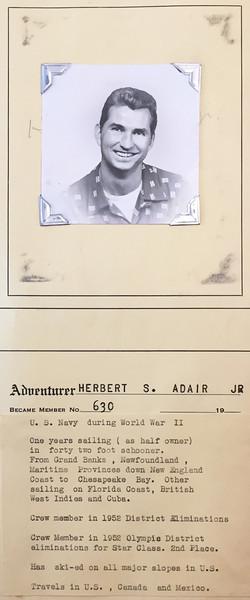 Adair, Herbert
