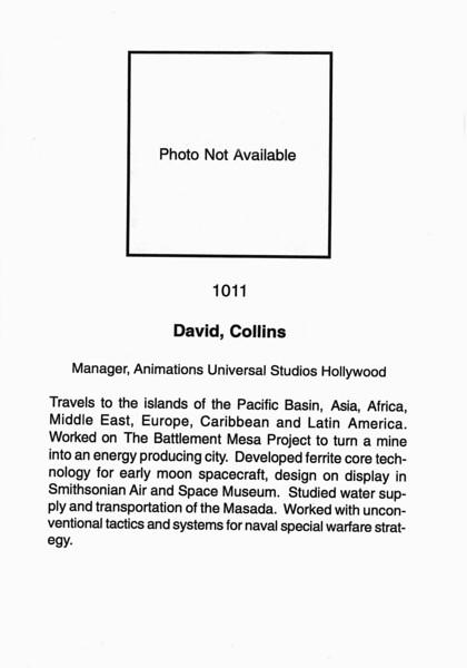 David, Collins