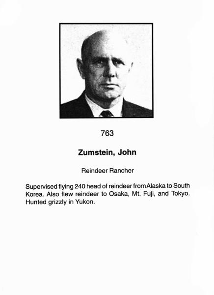 Zumstein, John