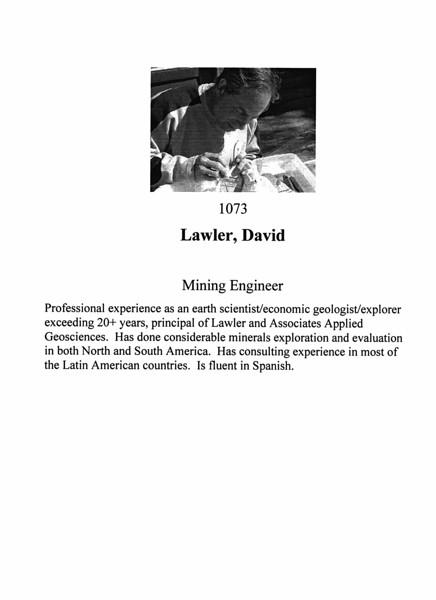 Lawler, David