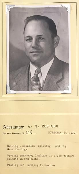Robison, A.Q.