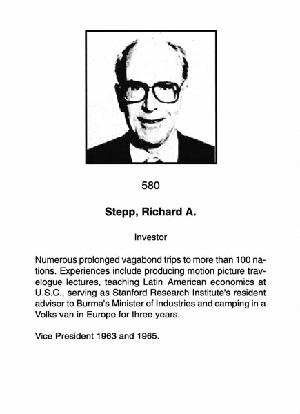 Stepp, Richard A.