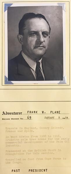 Plane, Frank