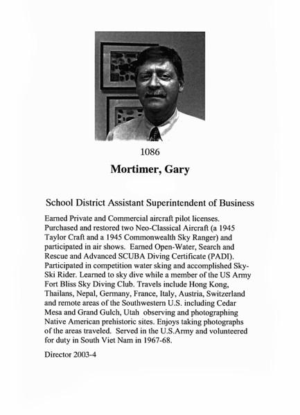 Mortimer, Gary