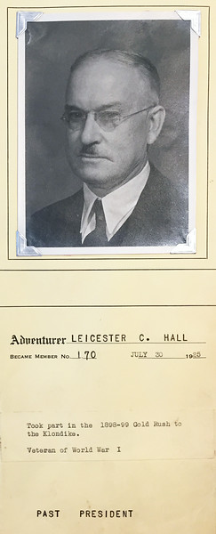 Hall, Leicester C.